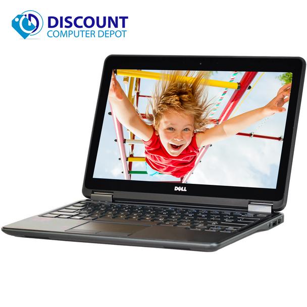 """Dell Laptop Computer E7250 12.5"""" Core i5 16GB 256GB SSD Win 10 Pro HDMI - Grade B"""