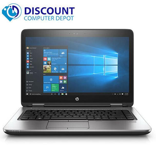 "HP Laptop 14"" Probook 640 G1 Intel Core i5 8GB 500GB HD Wifi Windows 10 PC"