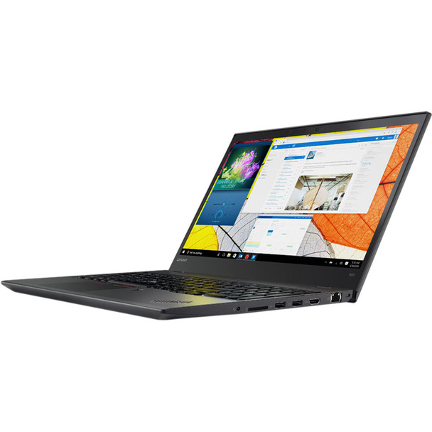 "Lenovo Thinkpad T570 15.6"" Intel Core i5 7th Gen Dual-Core 2.50 GHz 16GB RAM 512GB SSD Windows 10 Pro Webcam Bluetooth"
