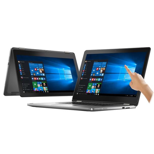 "Dell Inspiron 15-7568 15.6"" 2-in-1 Touchscreen Laptop PC Intel Core i5 6th Gen Dual-Core 2.3GHz 16GB 512GB SSD Windows 10 Professional WiFi Bluetooth"