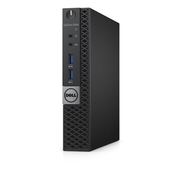 Fast And Dependable Dell Optiplex 3046 Micro Desktop   Sixth Gen i3   8GB RAM   500GB HDD   HDMI   Windows 10 Pro