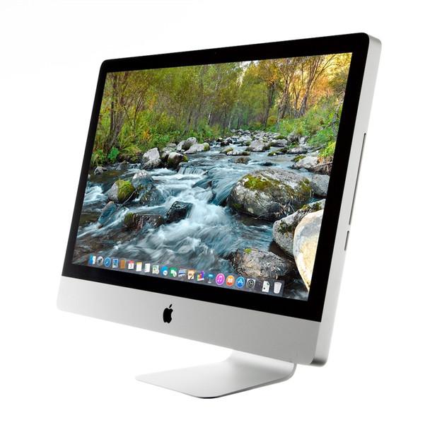 """Apple iMac 21.5"""" All-in-One Desktop Computer i3 3.07GHz 4GB Ram 500GB HDD Mac OS High Sierra MC508LL/A w/ Keyboard & Mouse - GRADE B"""