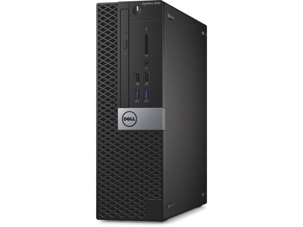 Dell OptiPlex 3040 Small Form Factor PC, Intel Quad Core i5 6500 up to 3.6GHz, 16GB 256SSD WiFi, Windows 10 Pro