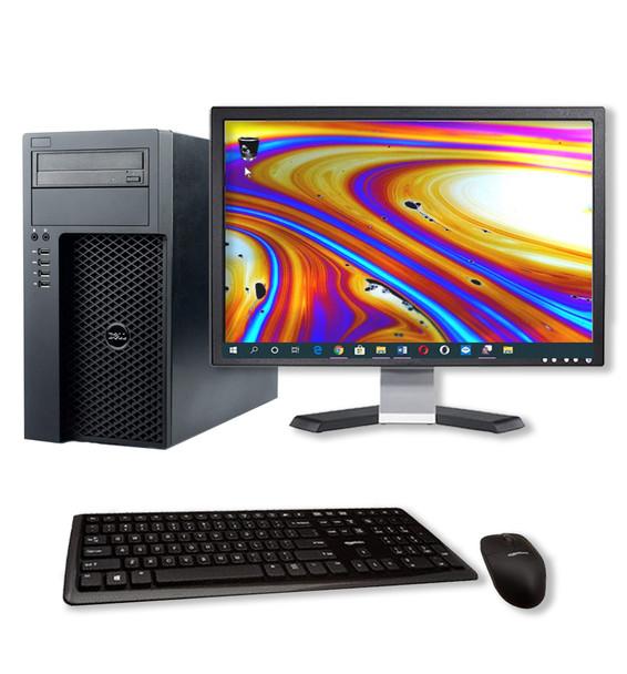 Dell T1700 Photo Editing Workstation Computer 64GB 512GB SSD Windows 10 GT 1030