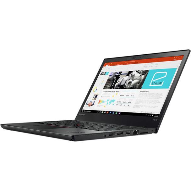 "Lenovo ThinkPad T470 Laptop Computer 14"" Intel Core i5 7th Gen 2.60 GHz 8GB RAM 256GB SSD Windows 10 Pro Webcam Bluetooth"