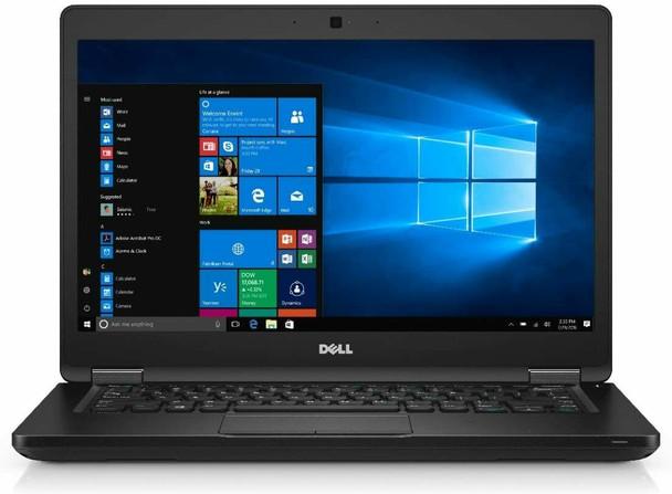 Dell Latitude E5480 Laptop | 7th Generation Intel i5 Processor | 8GB RAM | 256GB SSD | Windows 10 Professional Front Center