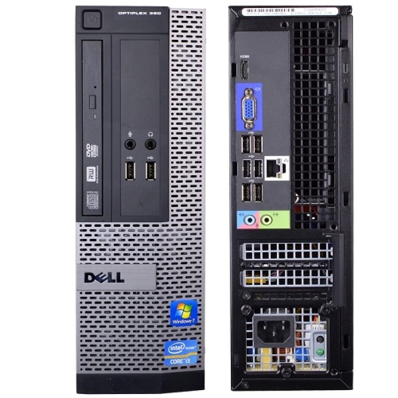 Dell Optiplex 390 Windows 10 Desktop Computer Core i3 3 1GHz 4GB 250GB HDMI  key mice and wifi