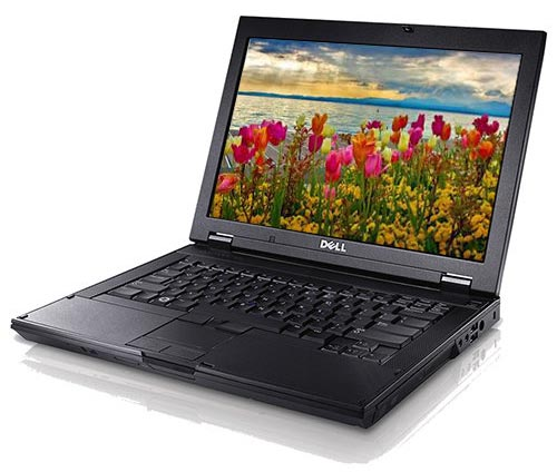 Dell E-Series Laptop Screen and Keyboard