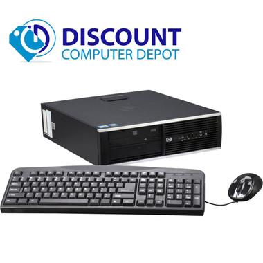 hp 8000 elite desktop computer windows 10 pro pc c2d 8gb 1tb dvdrw wifi. Black Bedroom Furniture Sets. Home Design Ideas