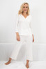 HOME APPAREL CROPPED PANT IVORY