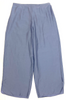 LIFESTYLE SOLID CROPPED PANT BLUE