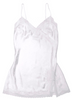 JACQUARD BABYDOLL WHITE ROSES