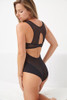 JET SET RACERBACK BODYSUIT BLACK