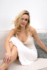 HOME APPAREL LACE CUP BALLERINA GOWN IVORY W/ IVORY LACE