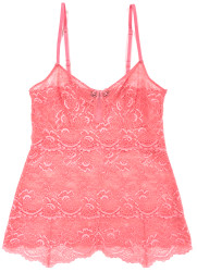 ALL LACE CLASSIC PYRAMID CAMI ROSE WATER