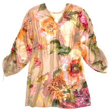 LIFESTYLE PRINTED SHORT CAFTAN CAMILLE