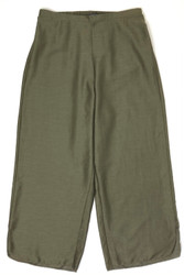 LIFESTYLE SOLID CROPPED PANT OLIVE