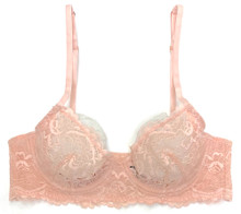 ALL LACE CLASSIC UNDERWIRE BRA CHERRY BLOSSOM