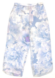 CLASSIC SILK CROPPED PJ PANT DAYREAM