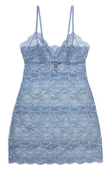 ALL LACE CLASSIC FULL SLIP MINERAL BLUE