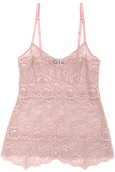 ALL LACE CLASSIC PYRAMID CAMI JAVA MAUVE
