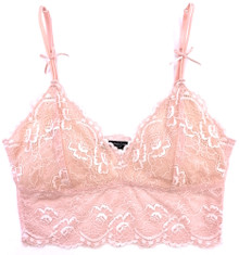 f6bd00cf23 ALL LACE CLASSIC CROP TOP BRALETTE PEONY - Samantha Chang