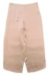 CLASSIC SILK CROPPED PJ PANT POWDER NUDE