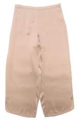 CLASSIC SILK CROPPED PJ PANT POWDER NUDE