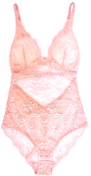 ALL LACE CLASSIC BODYSUIT PINK SALT