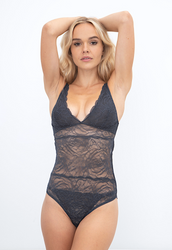 ALL LACE ROSES BODYSUIT NIGHTFALL