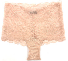 ALL LACE ROSES HIGH RISE BOYSHORT LATTE