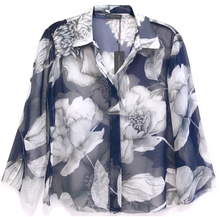 LIFESTYLE PRINTED CROPPED SHIRT JULES
