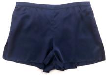 CLASSIC SILK PJ SHORT MIDNIGHT BLUE