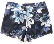 CLASSIC SILK PRINTED PJ SHORT HEAVENLY BLUE FLORAL