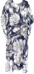 LIFESTYLE PRINTED FLOOR LENGTH KAFTAN JULES