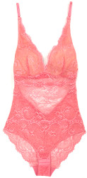 ALL LACE CLASSIC BODYSUIT ROSE WATER