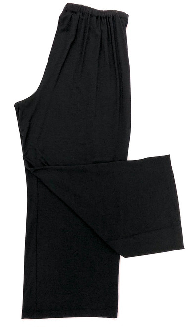 HOME APPAREL CROPPED PANT BLACK