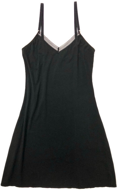 JET SET MULTI-PURPOSE CHEMISE COTTON BLACK