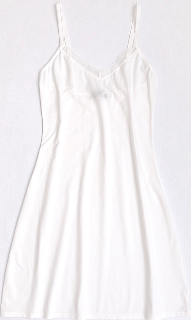 JET SET MULTI-PURPOSE CHEMISE COTTON WHITE