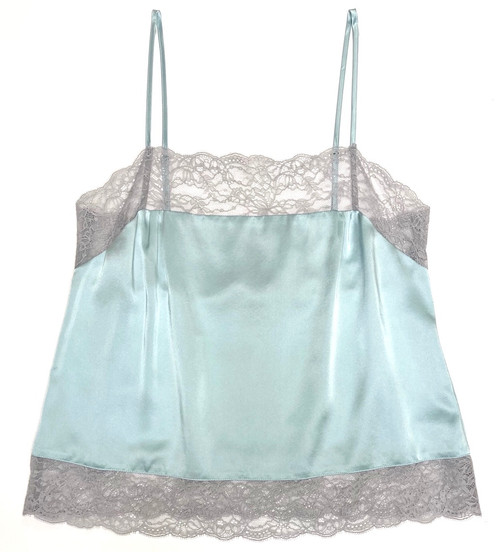 SILK WITH LEAVERS LACE PIA UNDERPINNING CLEARWATER