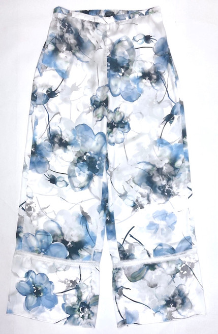 WELLNESS ZOE FULL-LENGTH PJ PANT PRINTED WISPY BLUES