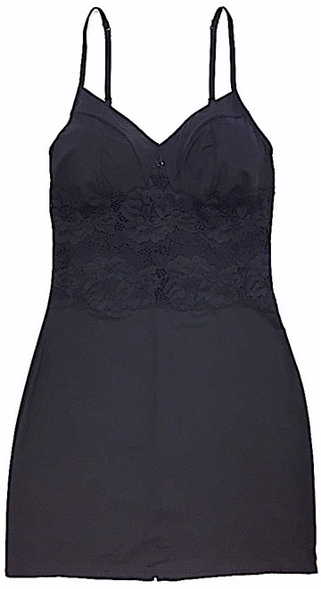 MY DAILY FULL SLIP - NEW LACE BLACK