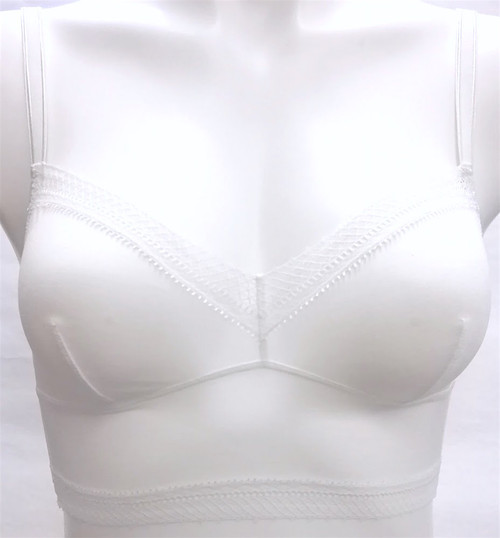 JET SET OUR FAVORITE LONGLINE BRA IVORY