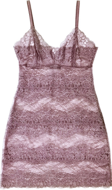 ALL LACE BOUDOIR FULL SLIP PURPLE ASH