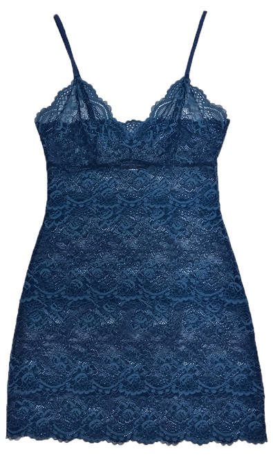 ALL LACE CLASSIC FULL SLIP ARCTIC BLUE