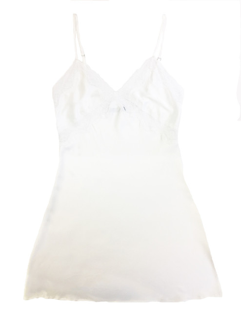 BRIDAL CLASSIC CHEMISE WHITE