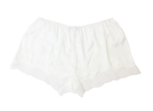 BRIDAL CLASSIC TAP SHORT WHITE