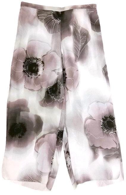CLASSIC SILK PRINTED CROPPED PJ PANT DREAM