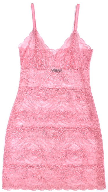 ALL LACE ROSES FULL SLIP CHEEKY