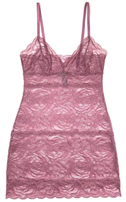 ALL LACE ROSES FULL SLIP MULBERRY